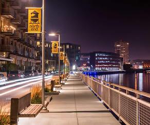 Riverwalk, The North End