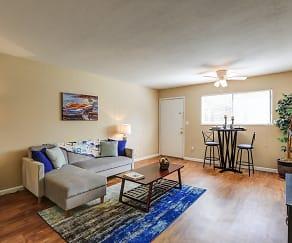 Living Room, Liv Apartments