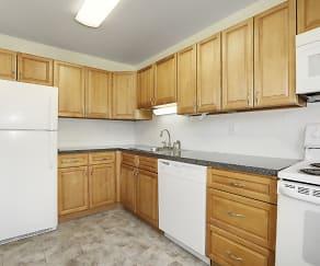 Kitchen, Balmoral Arms Apartments