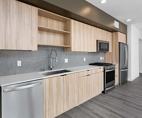 Kitchen, AVA Hollywood at La Pietra Place