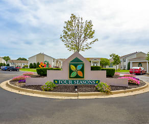 Community Signage, Four Seasons Apartments