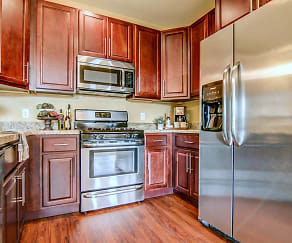 Kitchen, Copper Creek Apartments