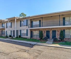 Building, Jefferson Shadows Apartments