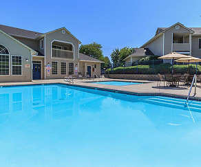 Pool, Orchard Hills Apartments
