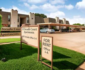Community Signage, El Dorado Court Apartments