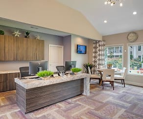 Come on into our newly renovated office, our friendly staff is waiting to help you find your new apartment home!, The Element At University Park