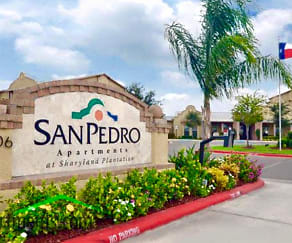 Community Signage, San Pedro Apartments at Sharyland Plantation
