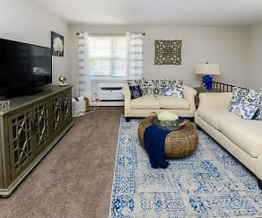 Living Room, Roberts Mill Apartments & Townhomes