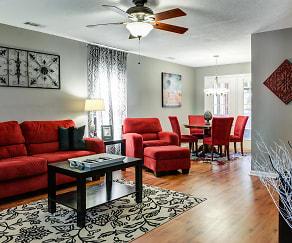 Living Room, Hawthorne Apartments
