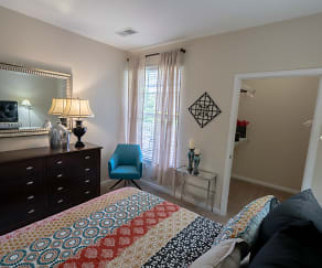Bedroom, Falcon Creek Luxury Apartments