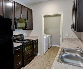 Kitchen, Le Jolliet Apartments