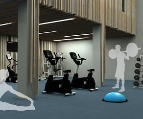 Fitness Weight Room, Bent Tree