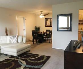 Living Room, Tamarac Apartments