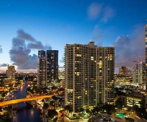 Building, Vu New River Apartments