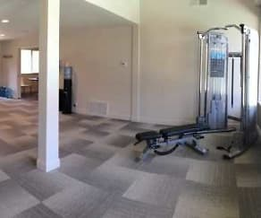 Fitness Weight Room, The Fairmont