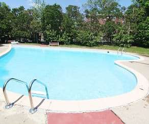 Pool, Hickory Hills Apartments