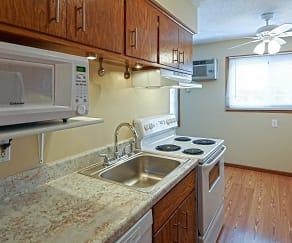 Kitchen, Lucia Lane Apartments