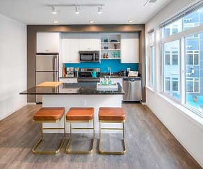 Modern Kitchens with Stainless Steel Appliances and Granite Countertops, AVA Wheaton