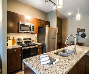 Even if you don't cook our newly remodeled kitchens will make you look good., Parkside at Firewheel Apartments