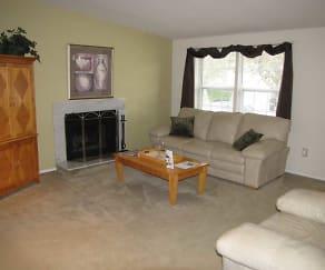Living Room, Harbor Ridge At Landen
