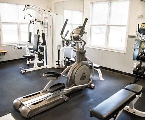 Fitness Weight Room, Harborside Manor