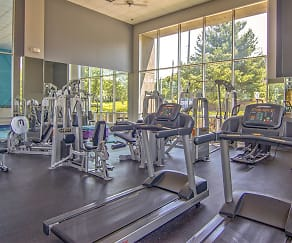 Fitness Weight Room, Lakeshore Drive Apartments