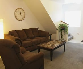 Living Room, Compass Townhomes