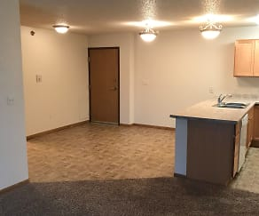 Dining Room, Legacy South Apartments