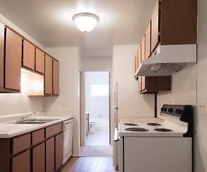 Kitchen, Cambridge Apartments
