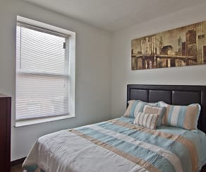 Bedroom, Forest Park Apartments