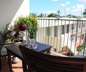 Balcony, Las Brisas Gardens