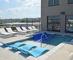 Pool, Iron City Lofts