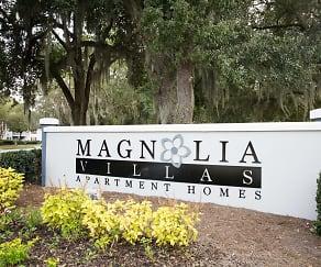 Community Signage, Magnolia Villas
