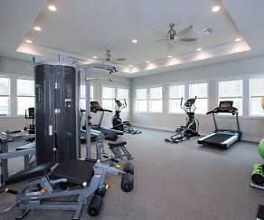 Fitness Weight Room, Living at Panama City Beach