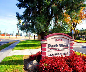 Community Signage, Park West Apartments