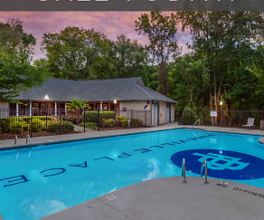 Pool, Pineville Place