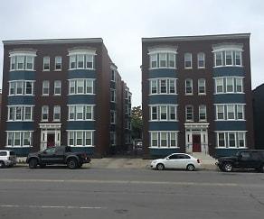 Building, Wayne & Waldorf Apartments