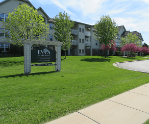 Community Signage, Evia Senior Apartments