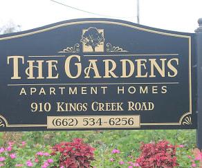 Community Signage, The Gardens