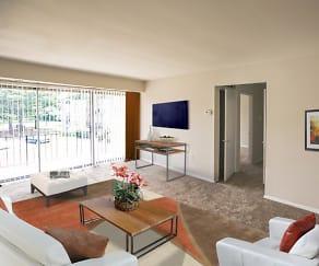Living Room, Metro Pointe