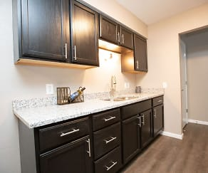 Kitchen, Andover Apartments