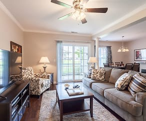 Living Room, Oakmonte Apartment Homes