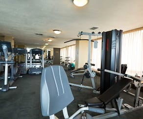 Fitness Weight Room, Prospect Towers