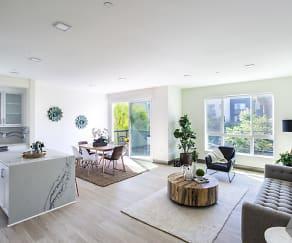 Living Room, 6800 Variel Ave
