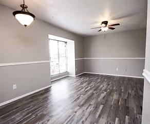 Dining Room, Highland Hills Apartments