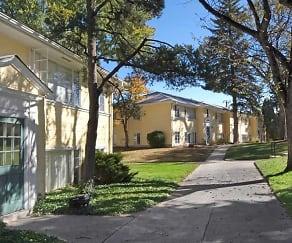 Building, Palmer Park Apartments