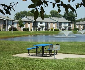 Lake, Sycamore Springs Apartments