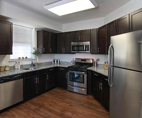 Kitchen, Summit Terrace Luxury Apartments