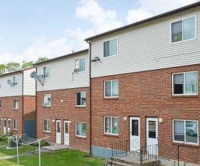 Building, Woodbury Apartments