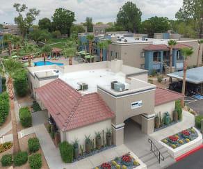 Pool, Domain 3201 Apartments